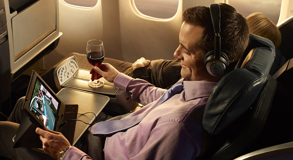 cheap business class on  American Airlines