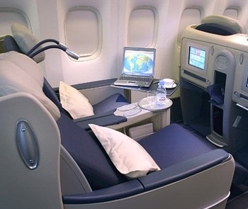 cheap business class on  Air France