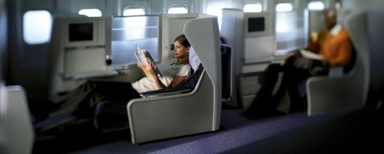 cheap business class on  British Airways