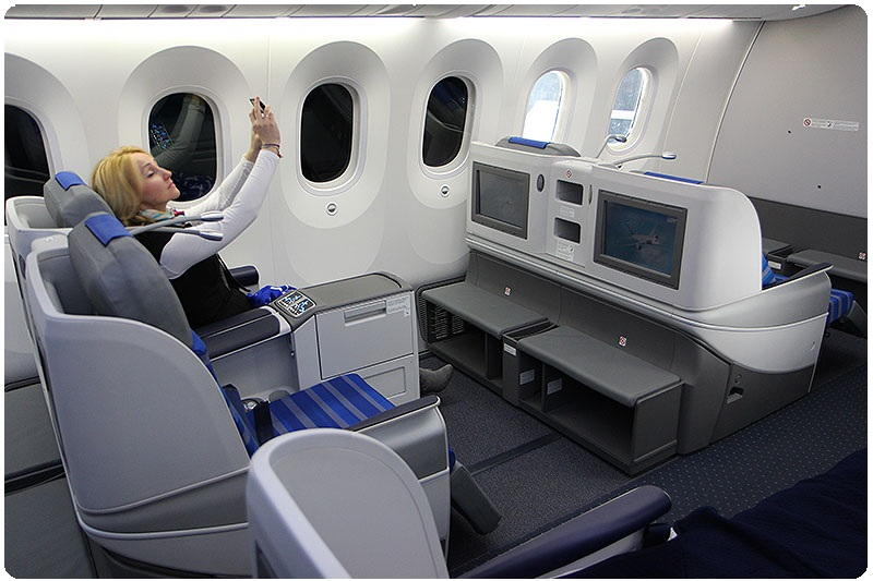 cheap business class seats on Lot Polish Airlines