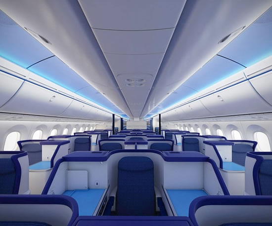 business class flights on All Nippon Airways