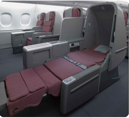 business class flights on Qantas Airlines