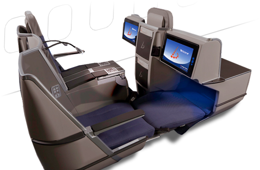 business class on Brussels Airlines Flight