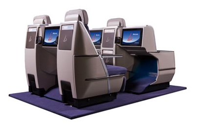 business class flights on Brussels Seats