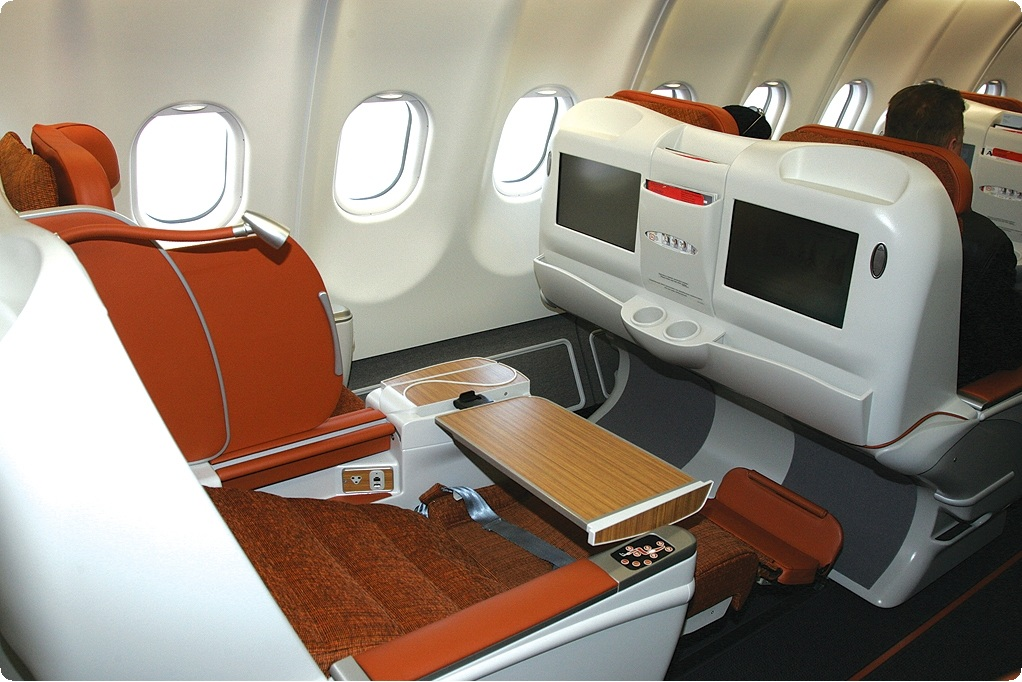 business class on  Aeroflot