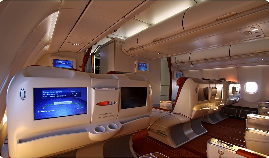 cheap business class flights on  Aeroflot