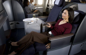 Business Class on United